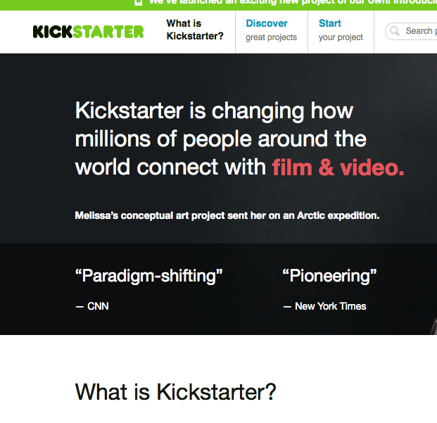 Lessons from Kickstarter on using merchandise for fan buy-in