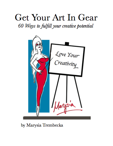 60 Ways to Get Your Art In Gear -The eBook!