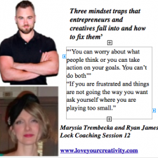 Three mindset traps that entrepreneurs & creatives fall into & how to fix them