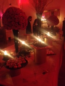 Hunger Games dessert table Cannes 2014