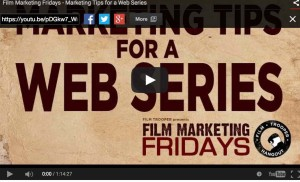 scott mcmahon marysia trembecka film marketing fridays marketing webseries songs of soho