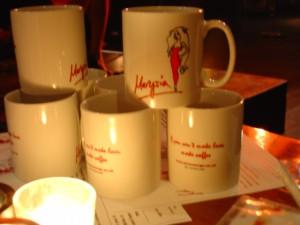 The Marysia 'If You Can't Make Love, Make Coffee' mug