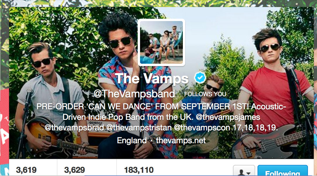 How to get 75k YouTube views in 21 hrs as a new band (& 2m in 5 wks!) – ask The Vamps