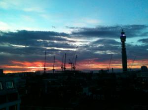 Marysia London night view sunset Londontown Love Your Creativity.com