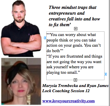 Marysia Trembecka and Ryan Lock coaching session 12