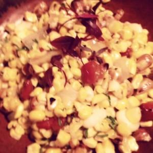 Corn dish at Coya