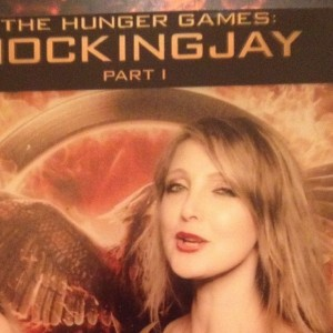 Marysia trembecka at hunger Games Cannes 2014