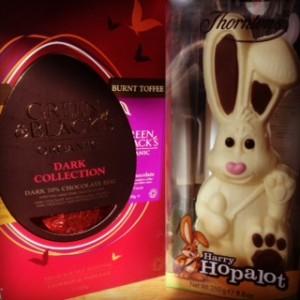 my left over Easter eggs