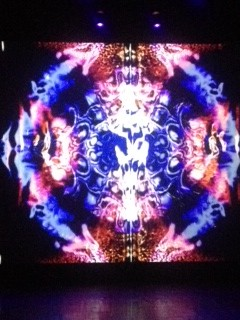 video still from the Jeff Miles The Trip at the Royal Festival Hall
