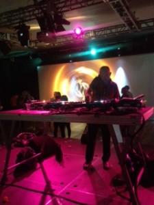 Craig Richards DJ at the Clore Ballroom