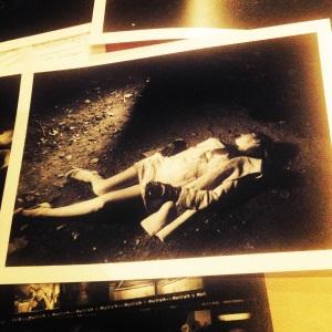Production still image from LATENT Marysia Trembecka