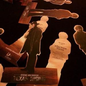 Texas Rising ITV premiere, MIP MARYSIA TREMBECKA