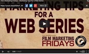 scott mcmahon marysia trembecka film marketing fridays marketing webseries songs of soho